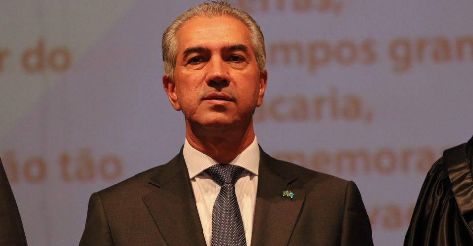 Governador de MS, Reinaldo Azambuja